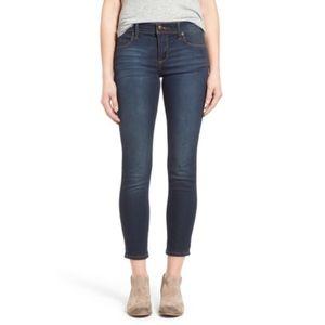 Free People   Ella Wash Roller Crop Skinny Jeans